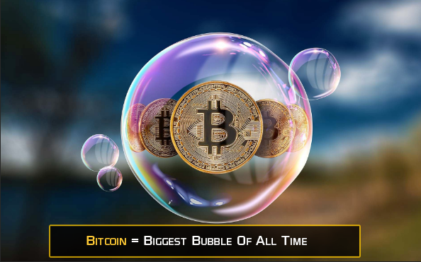Bitcoin = Biggest Bubble of All Time