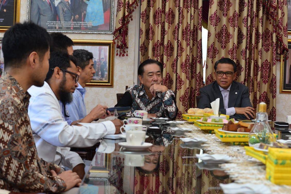 Gubernur Sulsel Sambut Konsuler Jepang Miyakawa Katsutoshi, Ini Agendanya