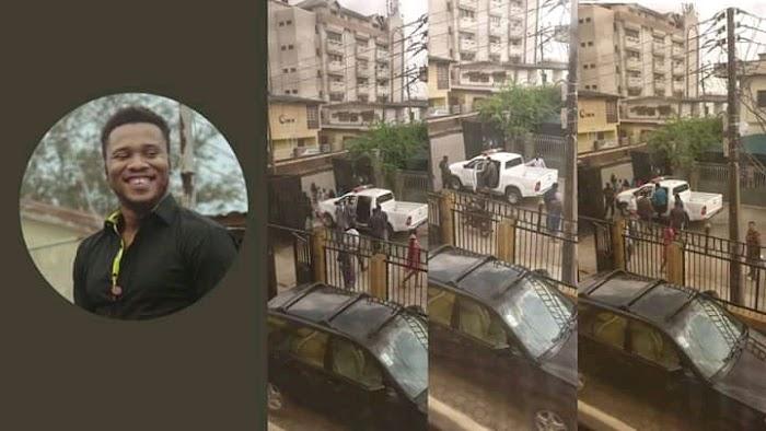 [BREAKING] Tension: Nigeria Police Arrest #EndSARS Promoter In Lagos