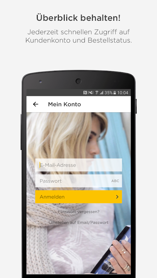 BAUR Mode Wohnen Shopping App- screenshot