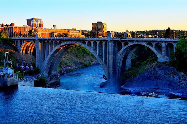 Monroe Street Dam in Spokane, WA