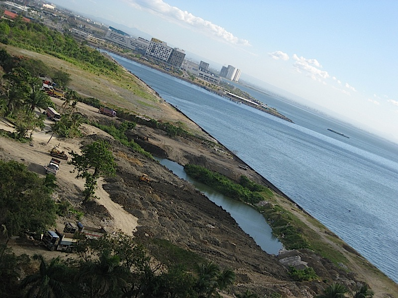 reclaimed land in Pasay City