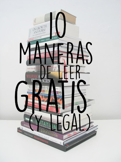 Leer gratis sin piratear