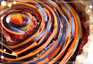 spirale di verdure