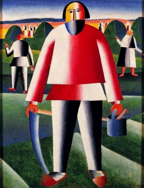 Kazimir Malevich - Haymaking
