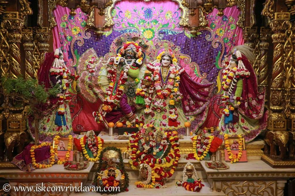 ISKCON Vrindavan Sringar Deity Darshan 14 Jan 2016 (3)