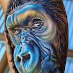 Tattoo wonderful monkey - tattoos for women