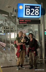 Na lotnisku w Dubaju