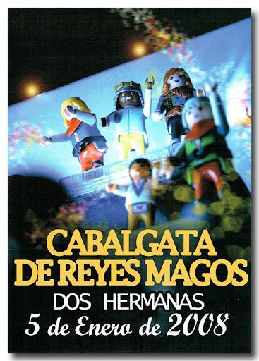 Cartel Cabalgata 2008, autor: Victor Hugo Espejo Alvarez