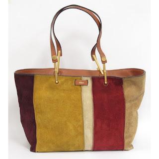 Chloé Suede Tote Bag
