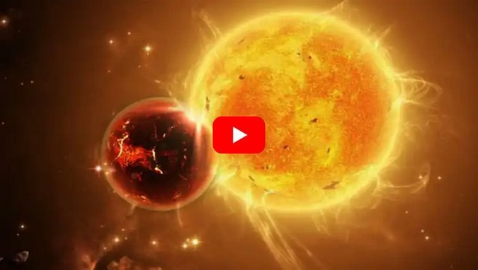 um enorme objeto desconhecido gira perto do Sol