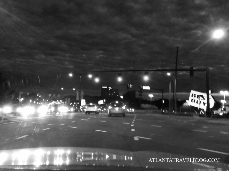 diverging diamond interchange Atlanta