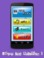 Screenshot of ePiano (Easy Piano Kids)