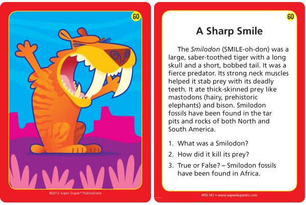 A Sharp Smile Card