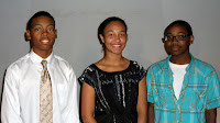 Alfred Gary scholarship recipient: Blake Jackson-Hall and Julian Byrd scholarship recipients: Taylor Mitchell and Cory McClure