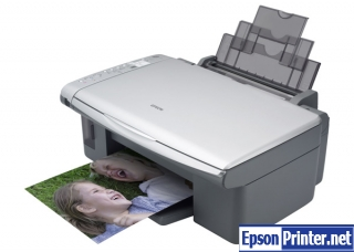 How to reset Epson CX4700 printer