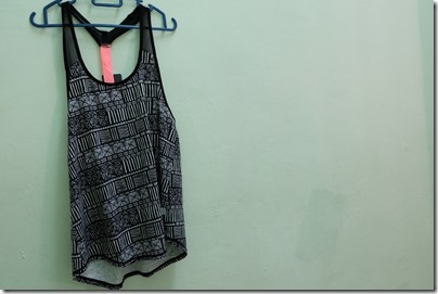 Tribal print swimming top from Cotton On