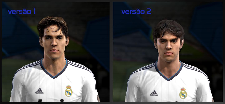 Face de Kaká - PES 2013