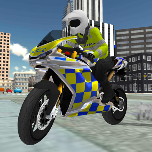 Police Bike Traffic Cop