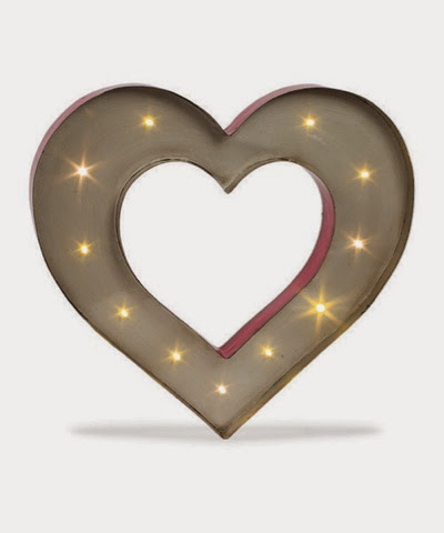 Marquee Heart Sign