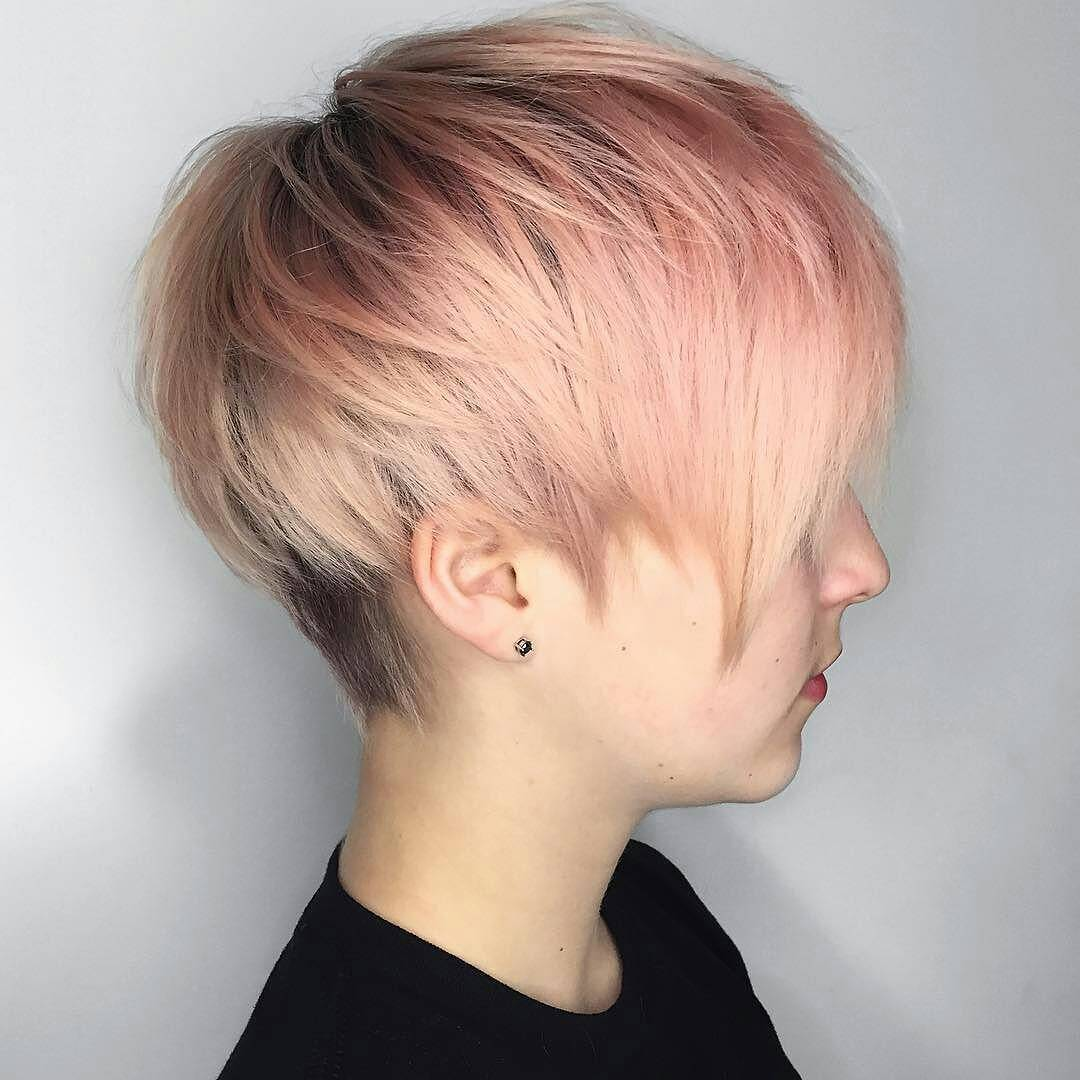 +9 Short Haircuts And Hairstyles For Short Hair 5