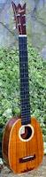 Shimo Guitars Baritone Scale Pineapple Super Soprano Ukulele
