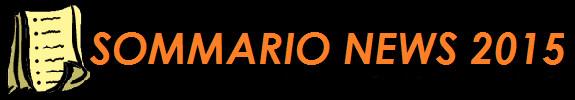 ARCHIVIO SOMMARIO NEWS 2015