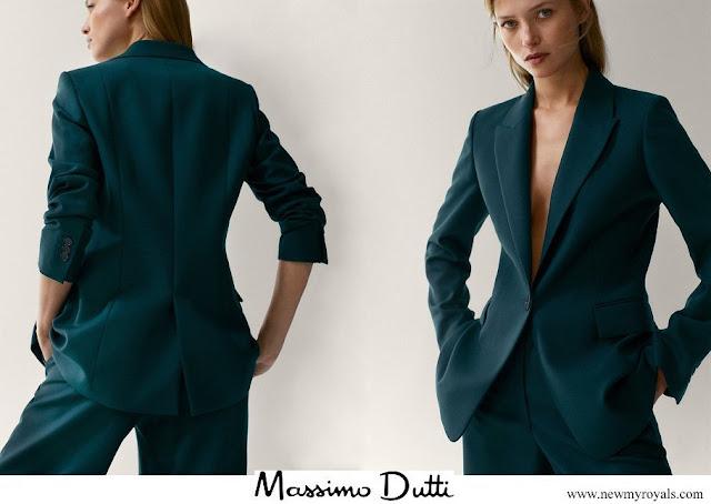 Kate Middleton wore Massimo Dutti wool blazer