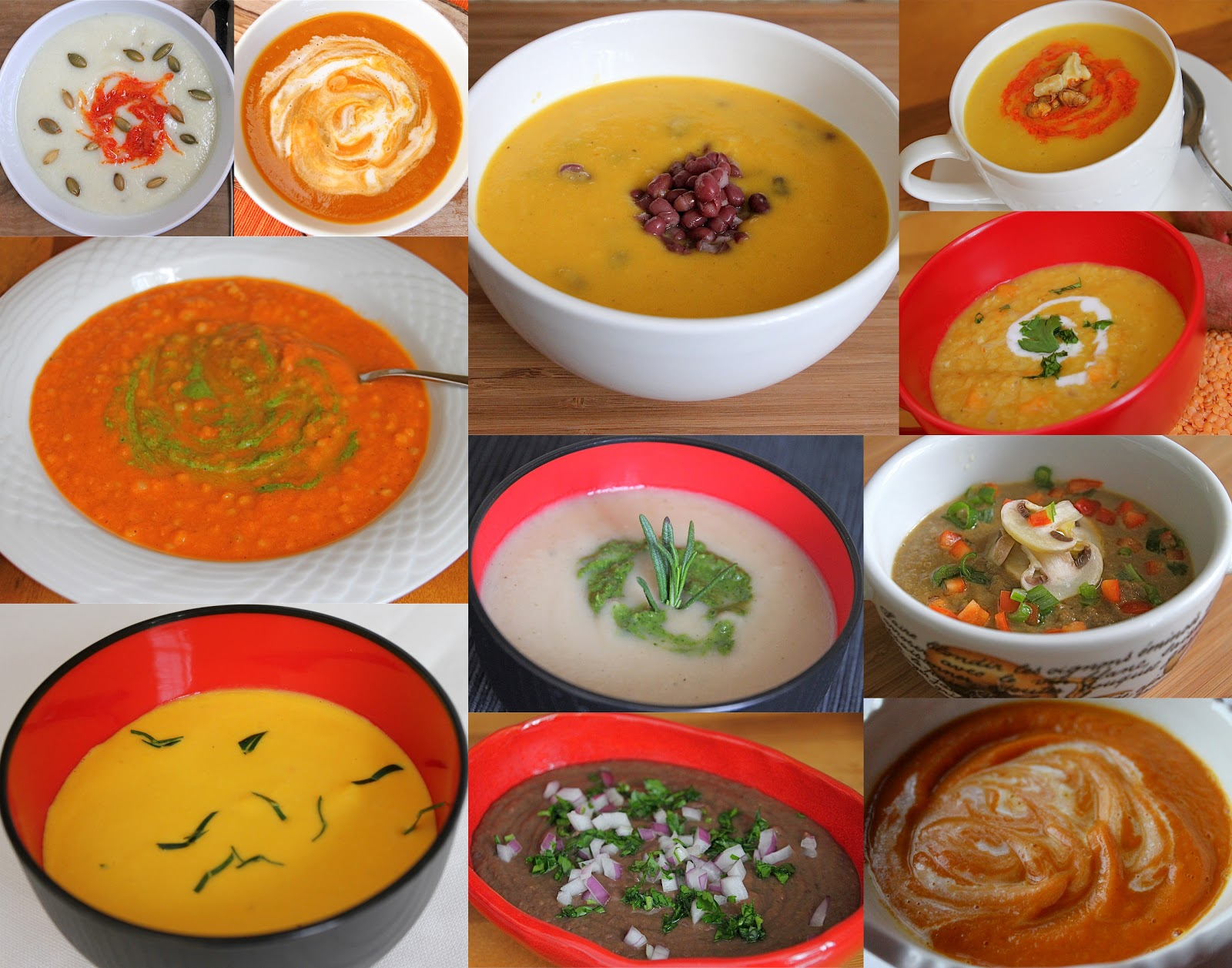 Winter Vegetable Soup With Butternut Squash And Cauliflower Recipes ...