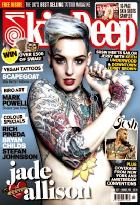 Skin Deep Tattoo Magazine – August 2013 P2P – Releaselog