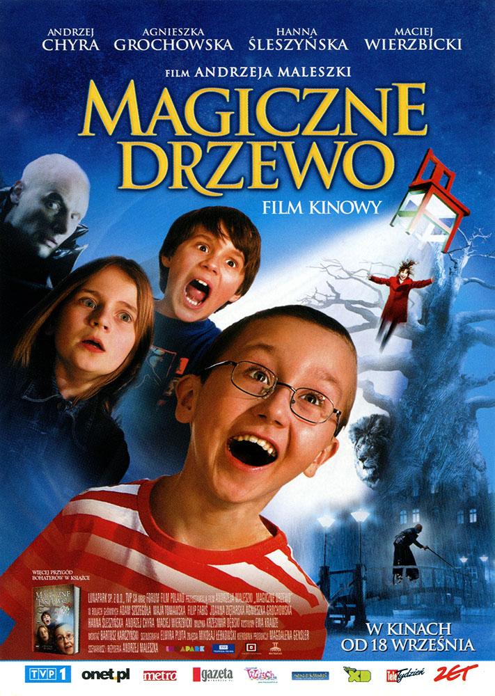 Ulotka filmu 'Magiczne Drzewo (przód)'