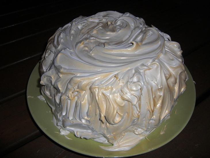 Fluff till tårta