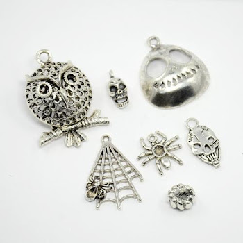 Tibetan Style Halloween Pendants from PandaHall.com