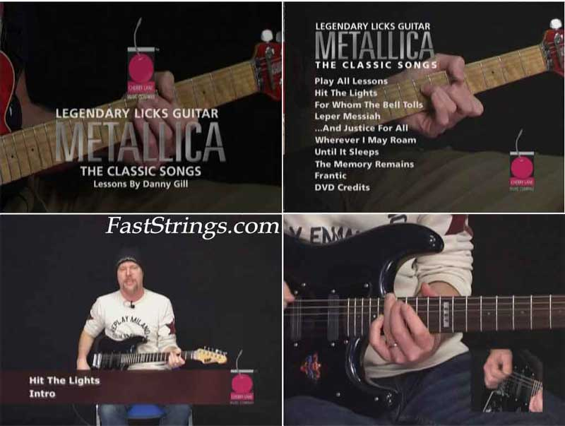 Metallica: Classic Songs - Guitar Legendary Licks