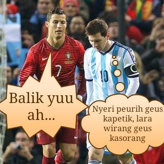 Messi-Ronaldo Keduanya Gatot