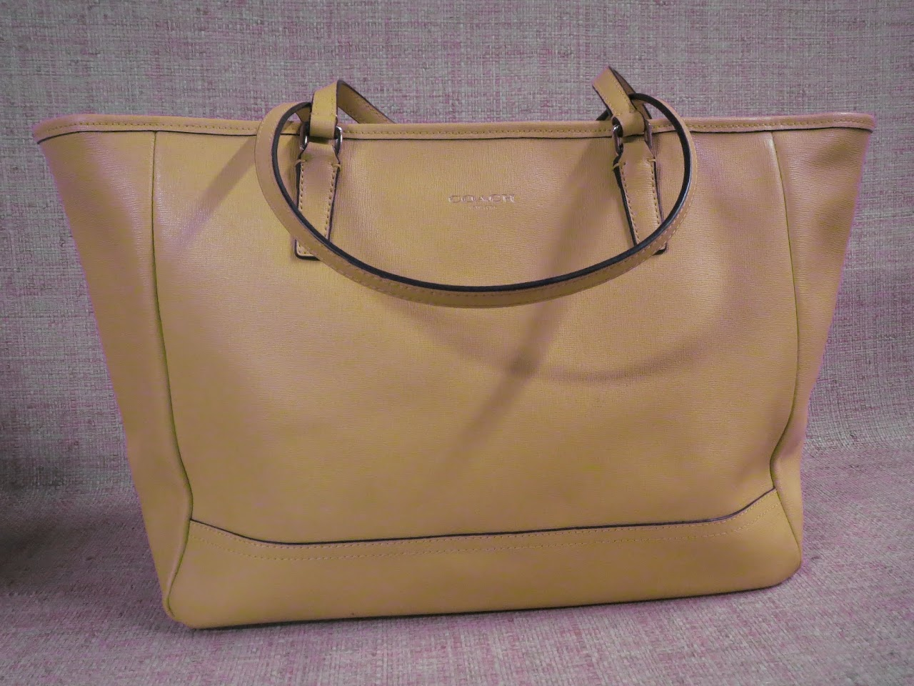 Coach Canary Tote