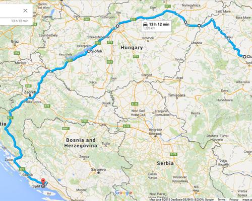 Cluj-Siofok-Split