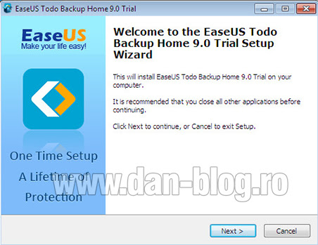 EaseUS Todo Backup Home 02 EaseUS Todo Backup   Review