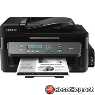 Reset Epson M205 printer Waste Ink Pads Counter