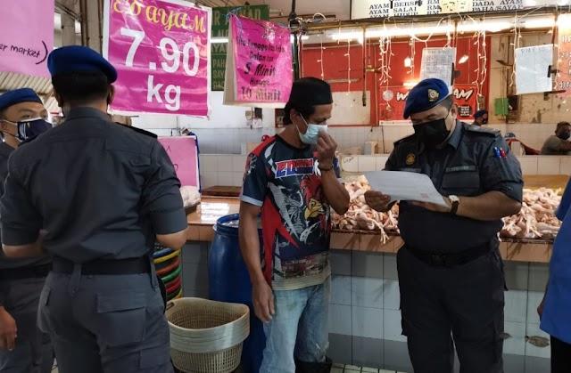 Padah jual ayam dengan harga tidak munasabah