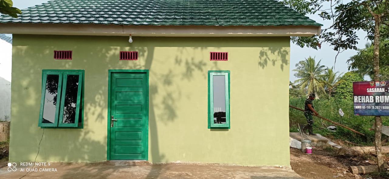 Dua Rumah yang Direhap,Siap Dihuni