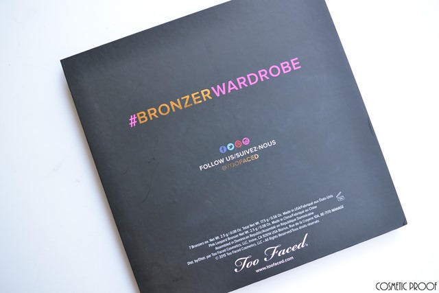 Too Faced The Little Black Book of Bronzers Review Swatches (1)