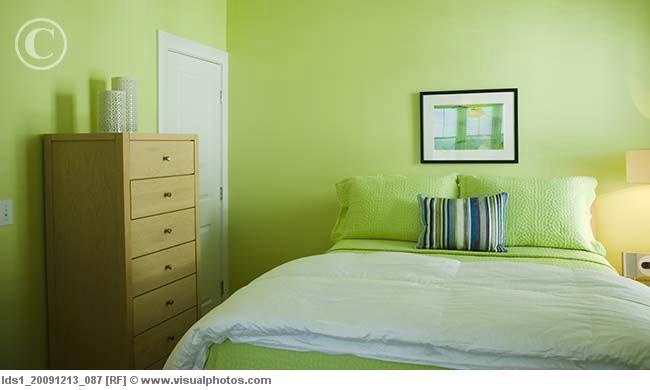 The big city bumpkin what i 39 m debating dresser tv - Lime green walls in bedroom ...