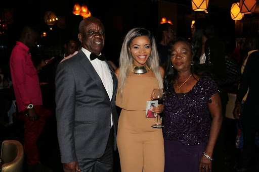 Linda Ikeji' parents