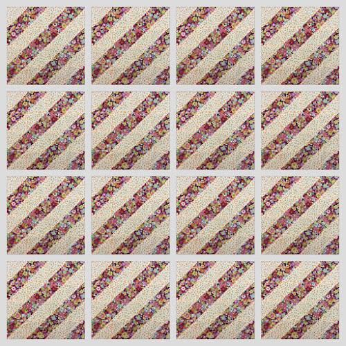 16 HST sampler quilt tutorial