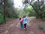 Pagel girls on a hike
