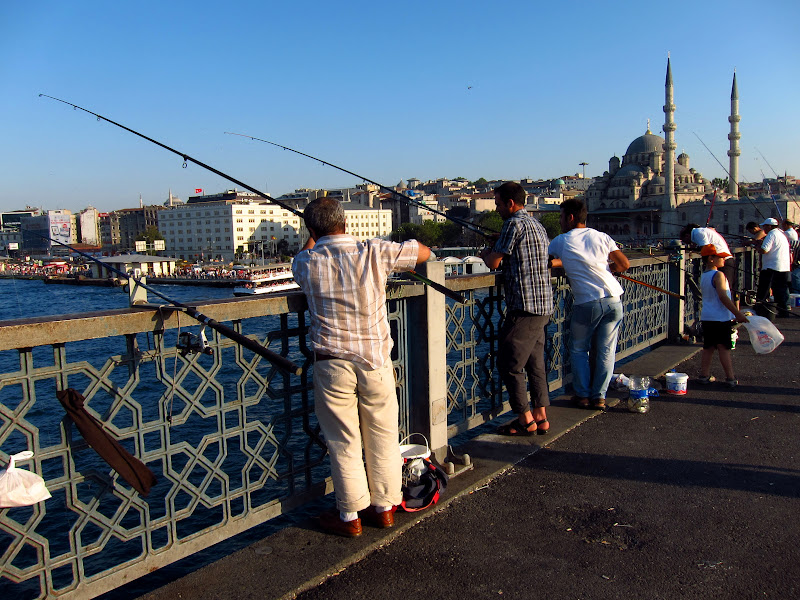 Galata Bridge, New Mosque