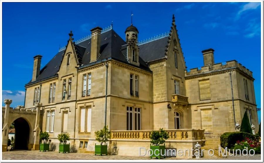 Château Pape Clement, enoturismo de luxo em Bordéus