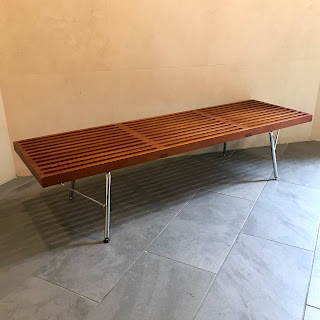Modern Slat Bench #1