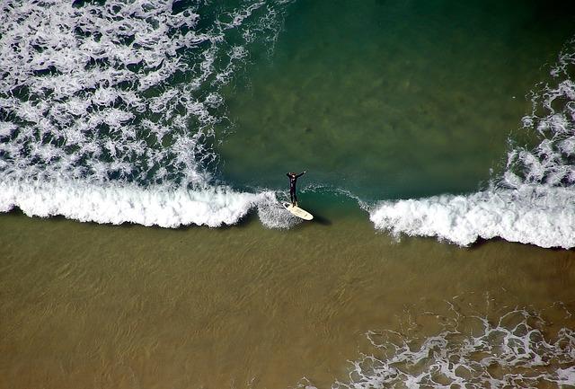 surfer surf beach